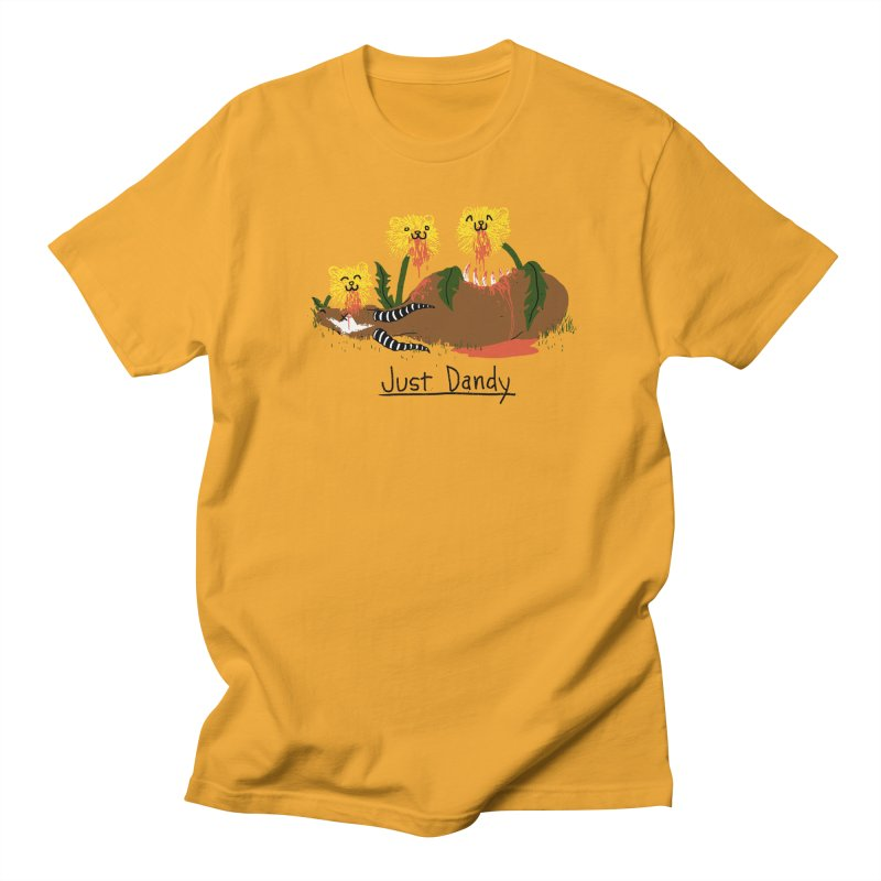 Dandelions Men's T-shirt by hillarywhiterabbit's Artist Shop