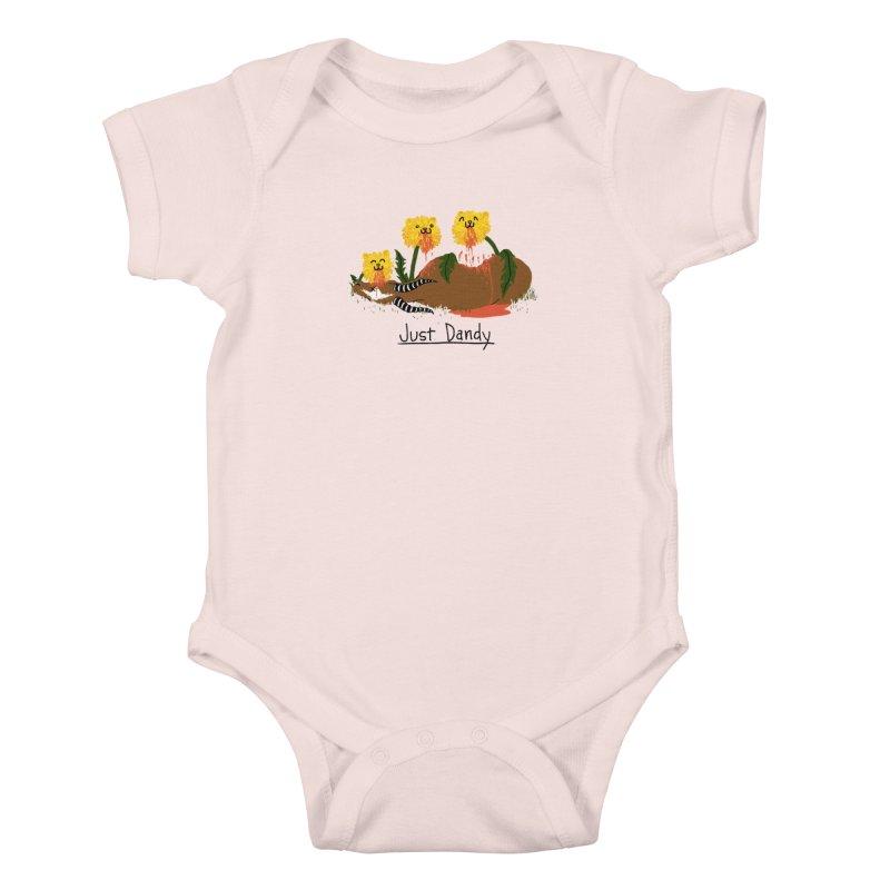 Dandelions Kids Baby Bodysuit by hillarywhiterabbit's Artist Shop