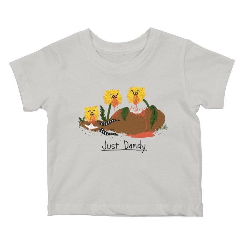 Dandelions Kids Baby T-Shirt by hillarywhiterabbit's Artist Shop