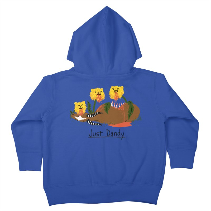 Dandelions Kids Toddler Zip-Up Hoody by hillarywhiterabbit's Artist Shop
