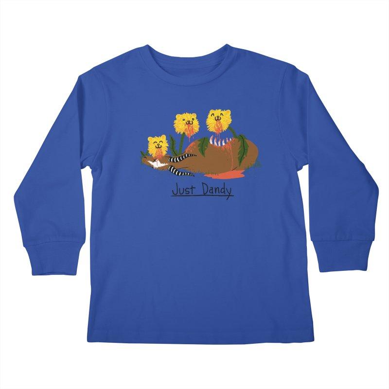 Dandelions Kids Longsleeve T-Shirt by hillarywhiterabbit's Artist Shop