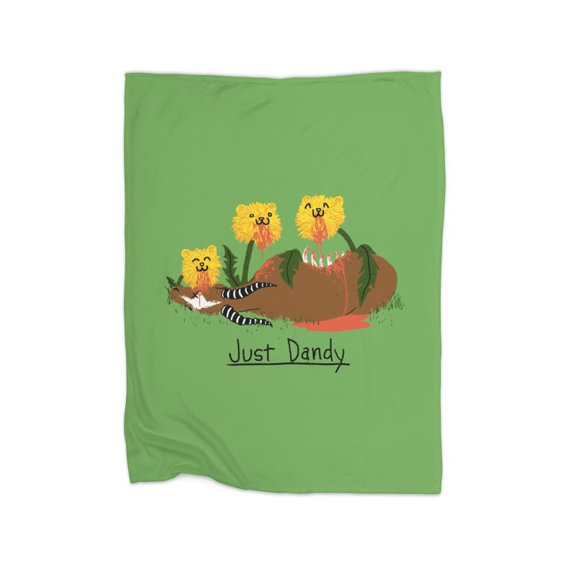 Dandelions Home Blanket by hillarywhiterabbit's Artist Shop