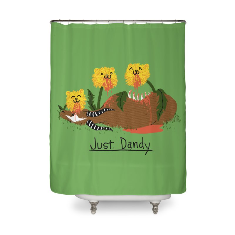 Dandelions Home Shower Curtain by hillarywhiterabbit's Artist Shop