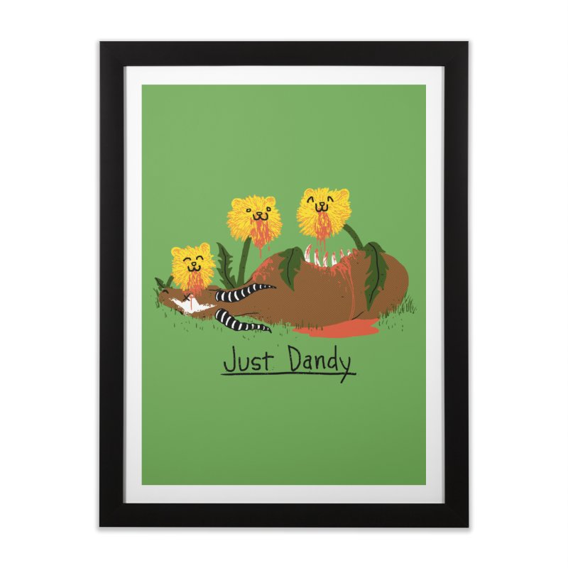 Dandelions Home Framed Fine Art Print by hillarywhiterabbit's Artist Shop