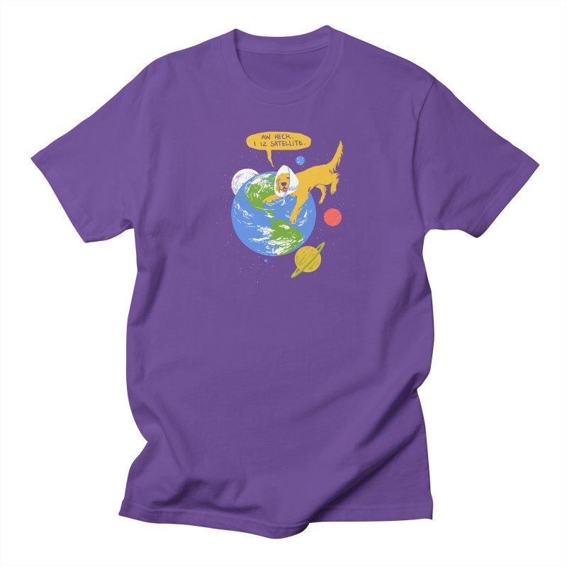 Golden Receiver Men's T-shirt by hillarywhiterabbit's Artist Shop