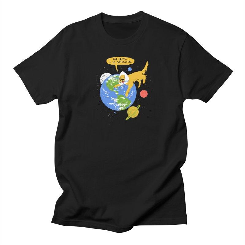 Golden Receiver Women's Unisex T-Shirt by hillarywhiterabbit's Artist Shop