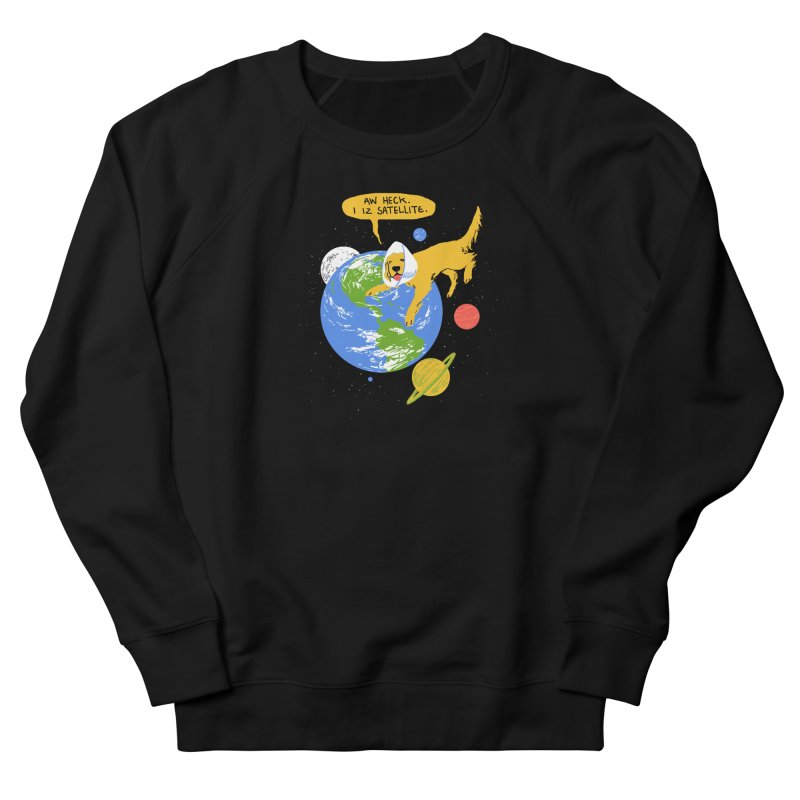 Golden Receiver Men's Sweatshirt by hillarywhiterabbit's Artist Shop