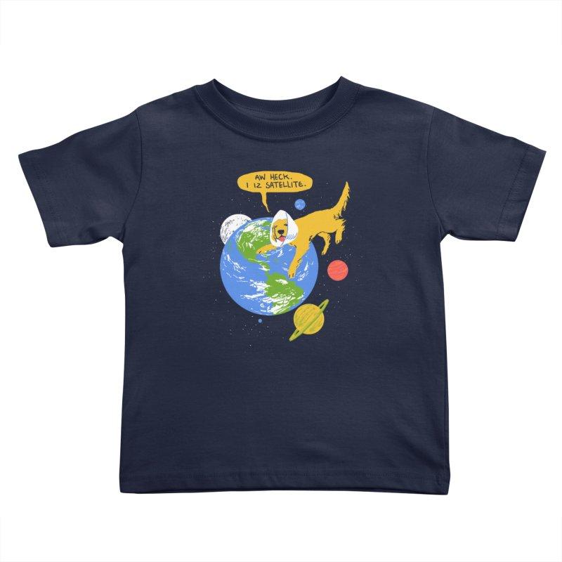 Golden Receiver Kids Toddler T-Shirt by hillarywhiterabbit's Artist Shop