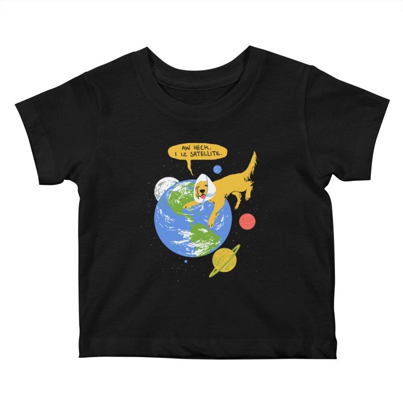 Golden Receiver Kids Baby T-Shirt by hillarywhiterabbit's Artist Shop