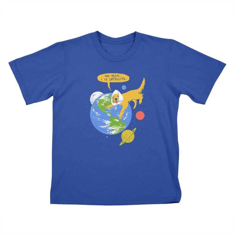 Golden Receiver Kids T-shirt by hillarywhiterabbit's Artist Shop
