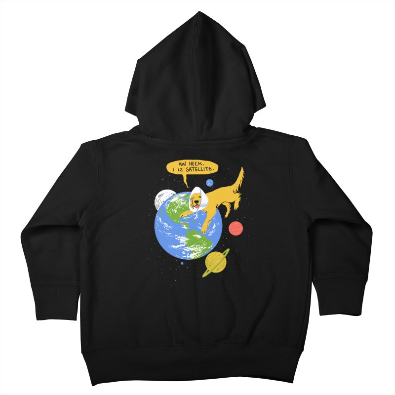 Golden Receiver Kids Toddler Zip-Up Hoody by hillarywhiterabbit's Artist Shop