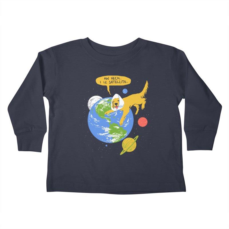 Golden Receiver Kids Toddler Longsleeve T-Shirt by hillarywhiterabbit's Artist Shop