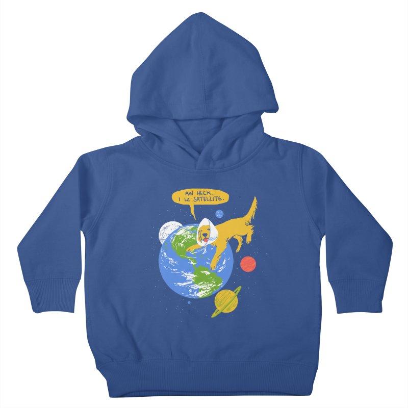 Golden Receiver Kids Toddler Pullover Hoody by hillarywhiterabbit's Artist Shop
