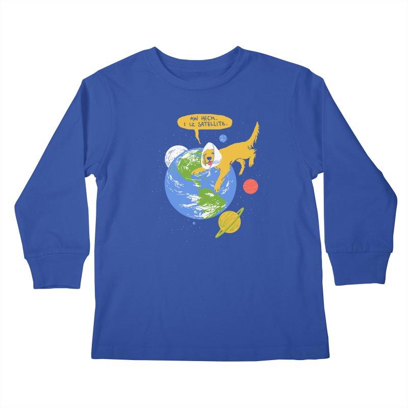 Golden Receiver Kids Longsleeve T-Shirt by hillarywhiterabbit's Artist Shop
