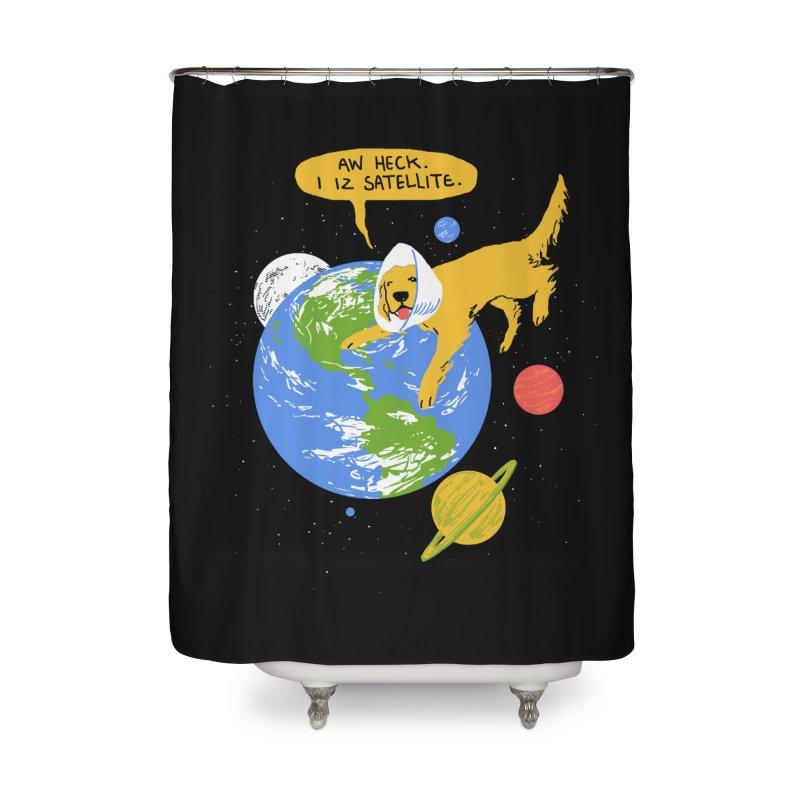 Golden Receiver Home Shower Curtain by hillarywhiterabbit's Artist Shop