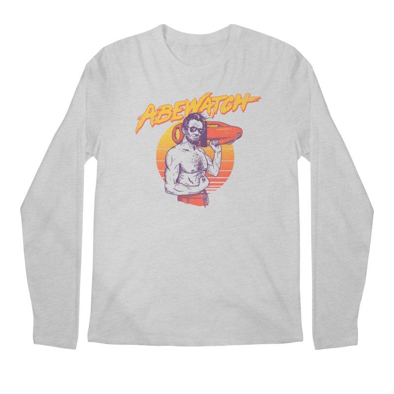Abewatch Men's Longsleeve T-Shirt by hillarywhiterabbit's Artist Shop
