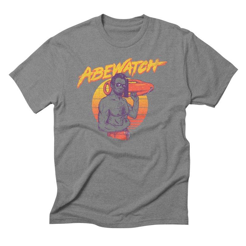 Abewatch Men's Triblend T-shirt by hillarywhiterabbit's Artist Shop