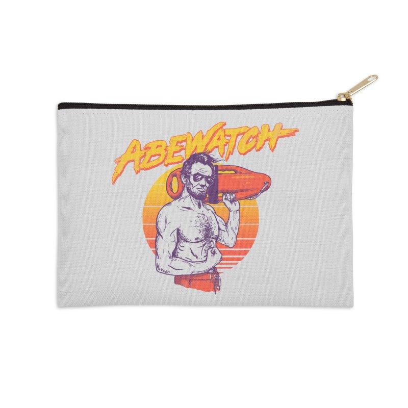 Abewatch Accessories Zip Pouch by hillarywhiterabbit's Artist Shop