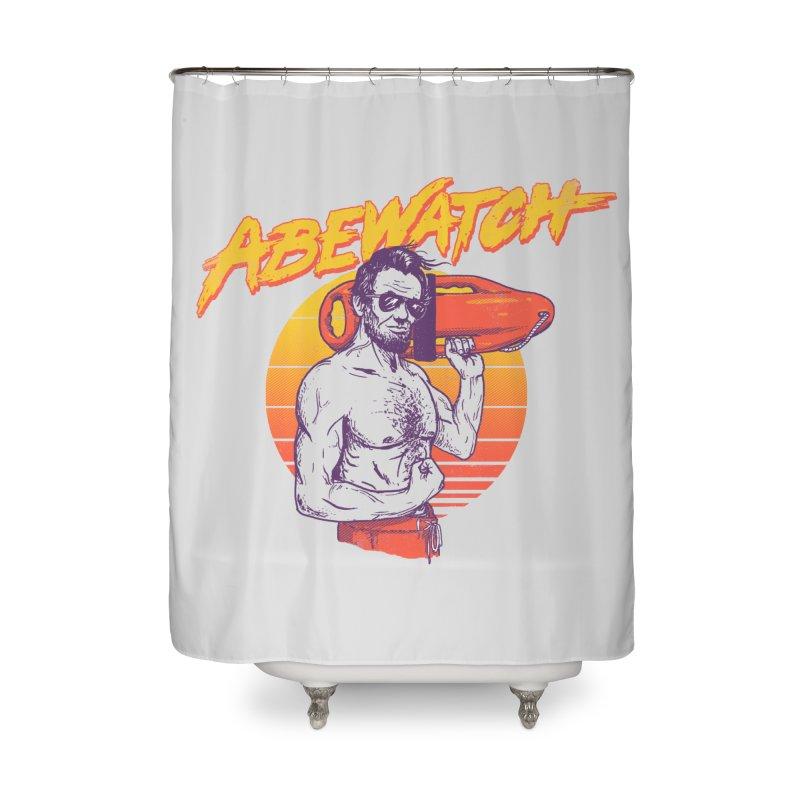 Abewatch Home Shower Curtain by hillarywhiterabbit's Artist Shop