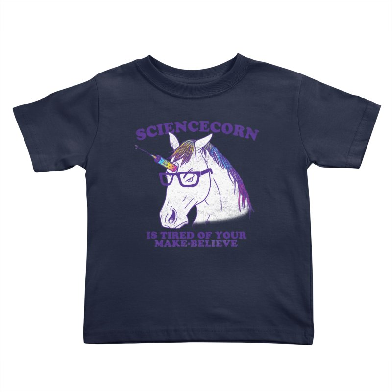 Sciencecorn Kids Toddler T-Shirt by hillarywhiterabbit's Artist Shop