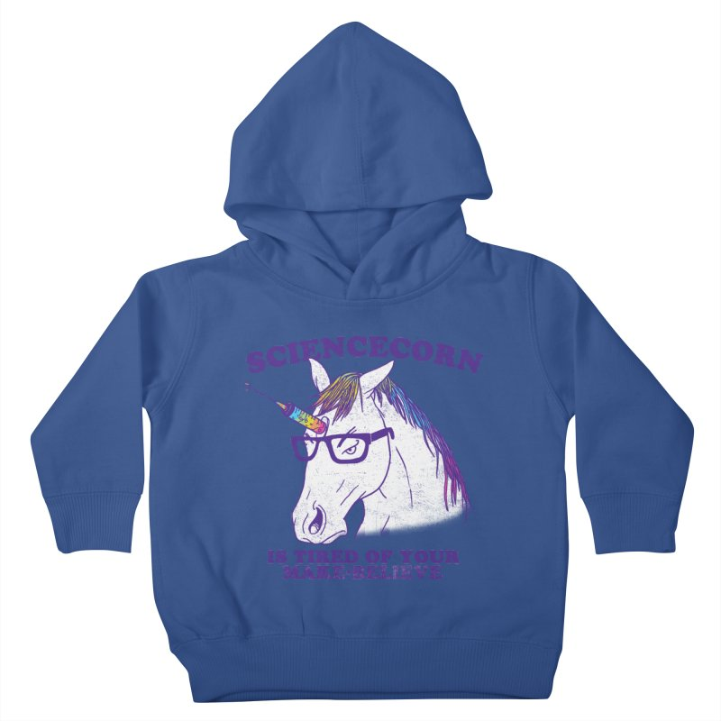 Sciencecorn Kids Toddler Pullover Hoody by hillarywhiterabbit's Artist Shop