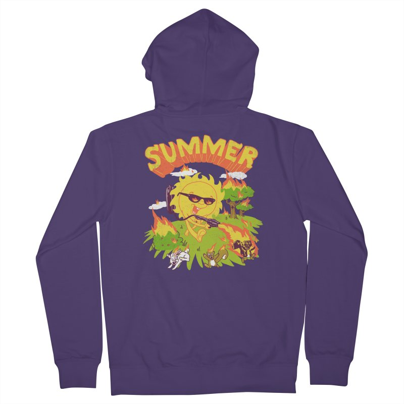 Summer Women's Zip-Up Hoody by hillarywhiterabbit's Artist Shop