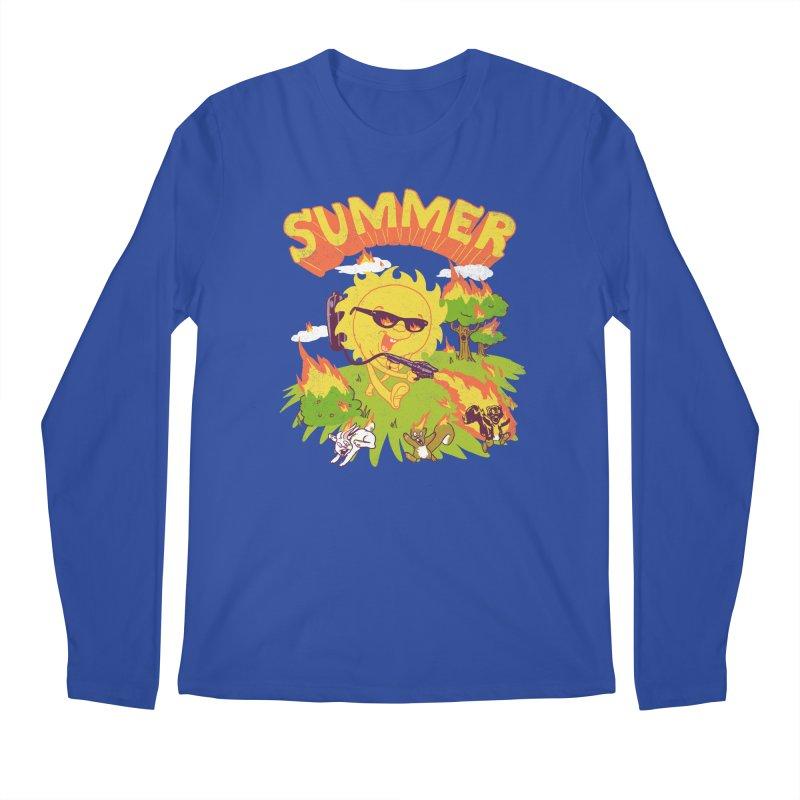 Summer Men's Longsleeve T-Shirt by hillarywhiterabbit's Artist Shop