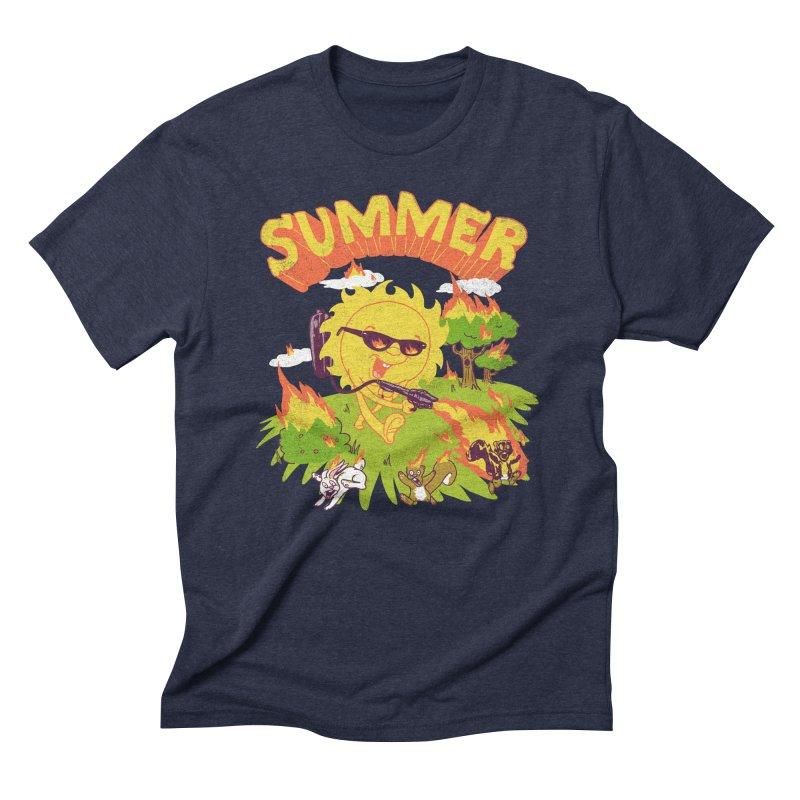 Summer Men's Triblend T-shirt by hillarywhiterabbit's Artist Shop