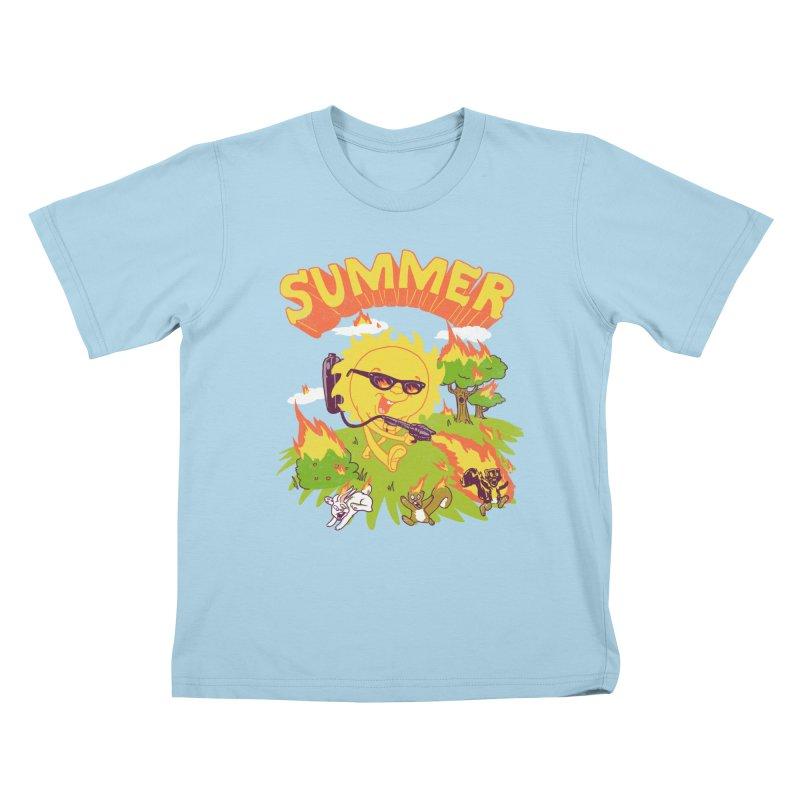 Summer Kids T-shirt by hillarywhiterabbit's Artist Shop