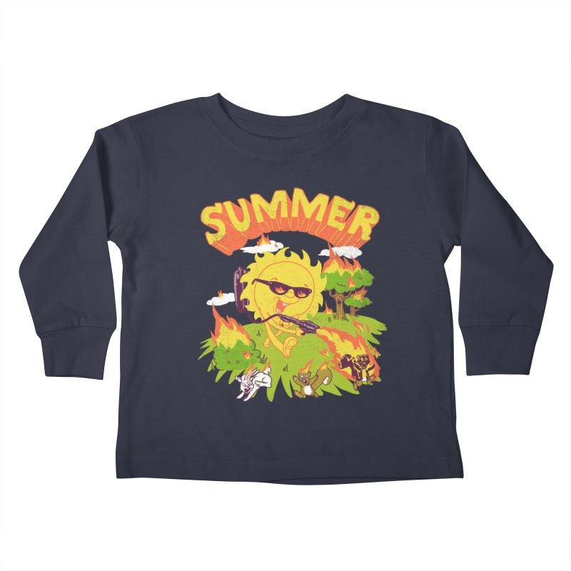 Summer Kids Toddler Longsleeve T-Shirt by hillarywhiterabbit's Artist Shop