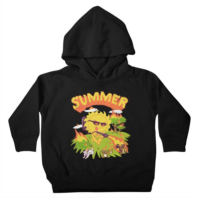Summer Kids Toddler Pullover Hoody by hillarywhiterabbit's Artist Shop