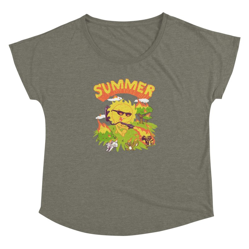 Summer Women's Dolman by hillarywhiterabbit's Artist Shop