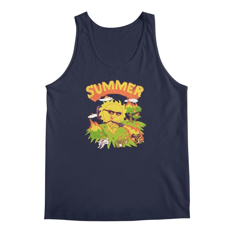 Summer Men's Tank by hillarywhiterabbit's Artist Shop