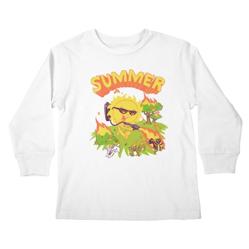 Summer Kids Longsleeve T-Shirt by hillarywhiterabbit's Artist Shop