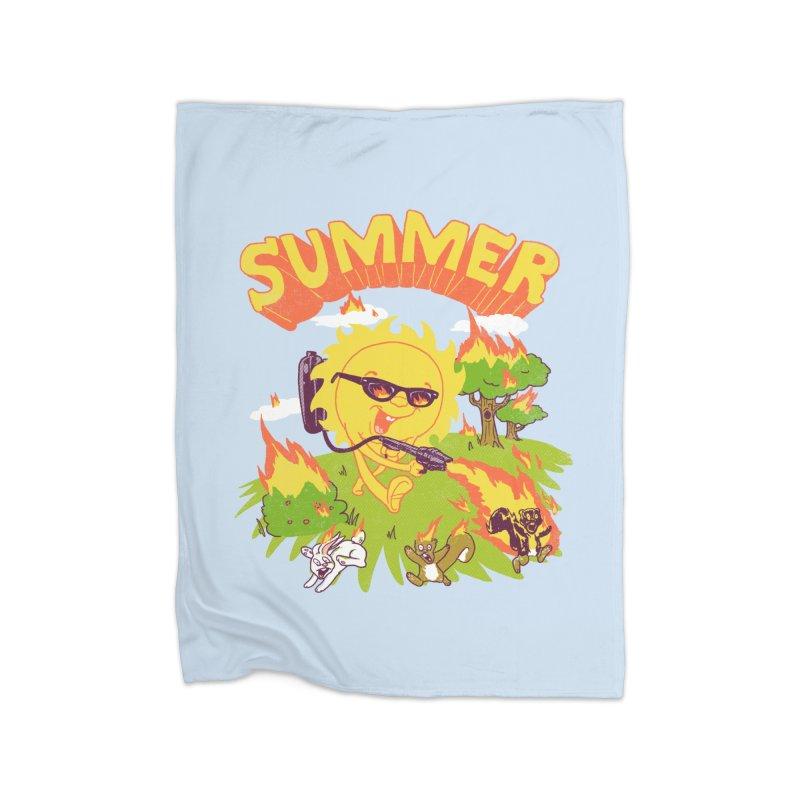 Summer Home Blanket by hillarywhiterabbit's Artist Shop