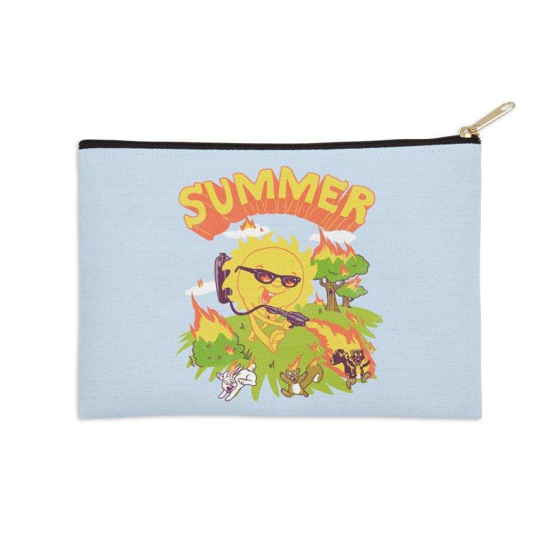 Summer Accessories Zip Pouch by hillarywhiterabbit's Artist Shop