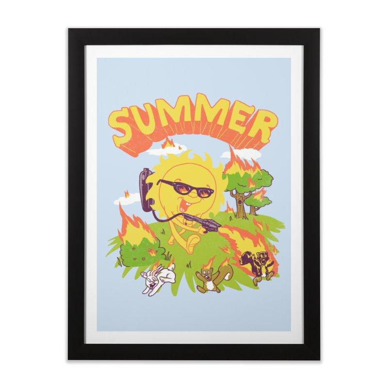 Summer Home Framed Fine Art Print by hillarywhiterabbit's Artist Shop