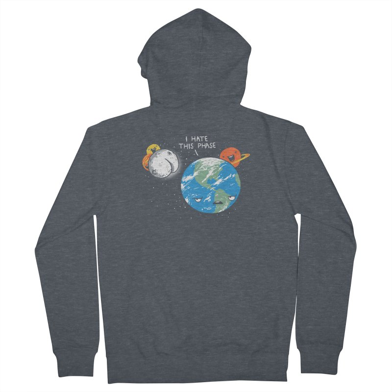 Full Moon Women's Zip-Up Hoody by hillarywhiterabbit's Artist Shop