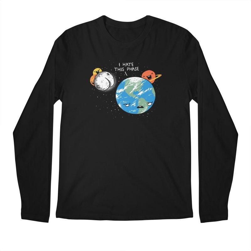 Full Moon Men's Longsleeve T-Shirt by hillarywhiterabbit's Artist Shop