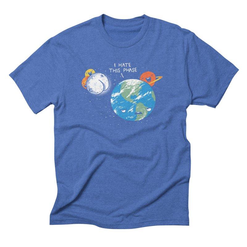 Full Moon Men's Triblend T-shirt by hillarywhiterabbit's Artist Shop