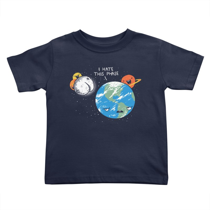 Full Moon Kids Toddler T-Shirt by hillarywhiterabbit's Artist Shop