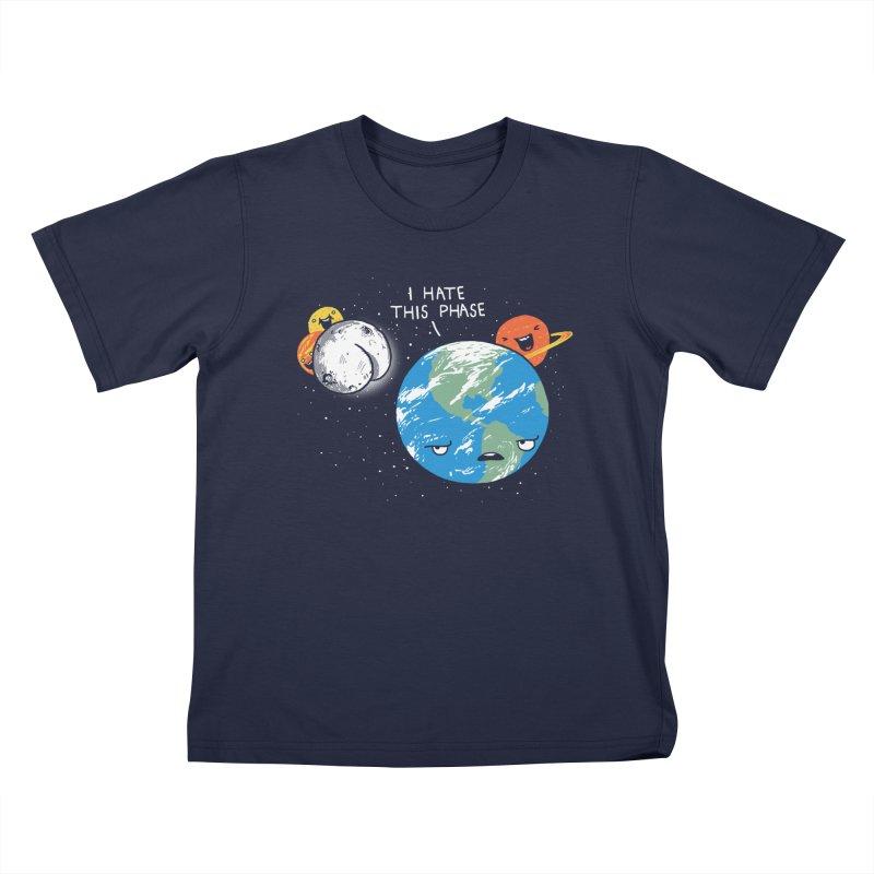 Full Moon Kids T-shirt by hillarywhiterabbit's Artist Shop