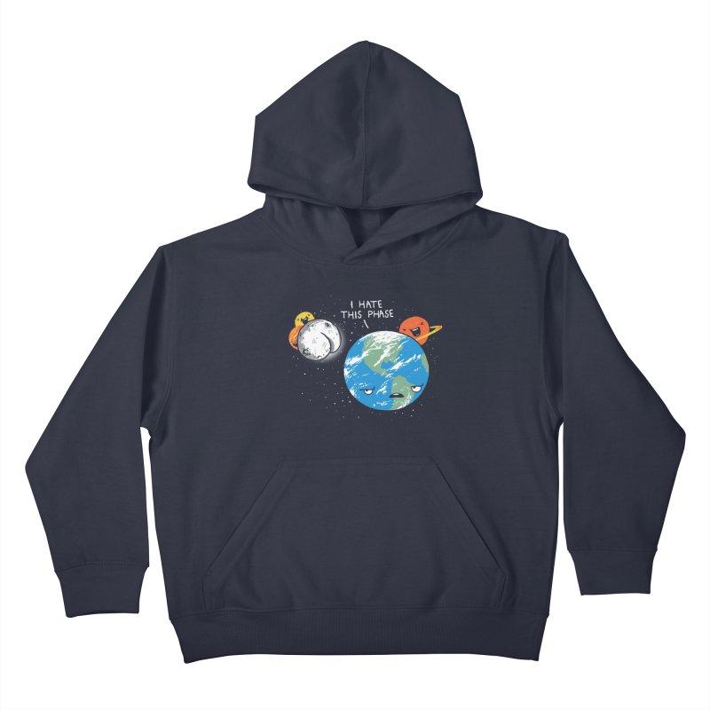 Full Moon Kids Pullover Hoody by hillarywhiterabbit's Artist Shop