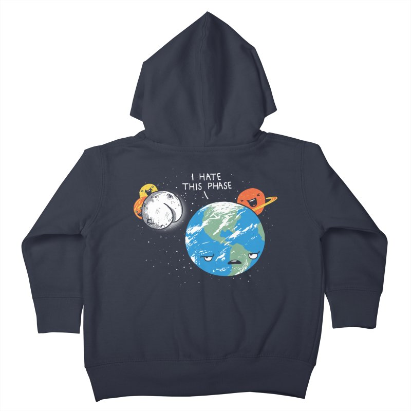 Full Moon Kids Toddler Zip-Up Hoody by hillarywhiterabbit's Artist Shop