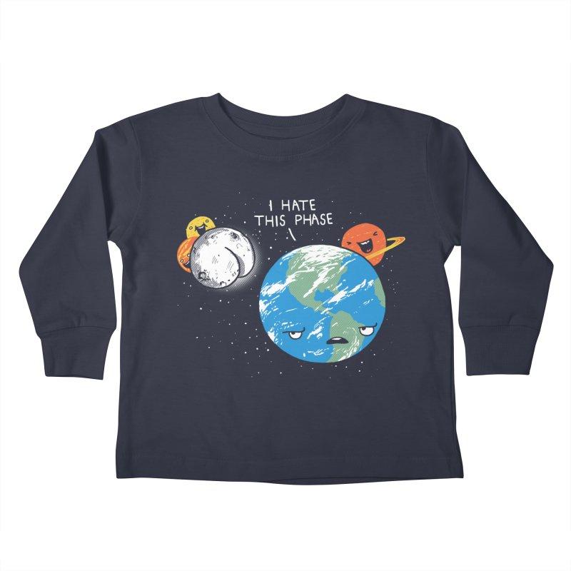 Full Moon Kids Toddler Longsleeve T-Shirt by hillarywhiterabbit's Artist Shop