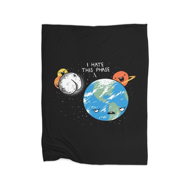 Full Moon Home Blanket by hillarywhiterabbit's Artist Shop