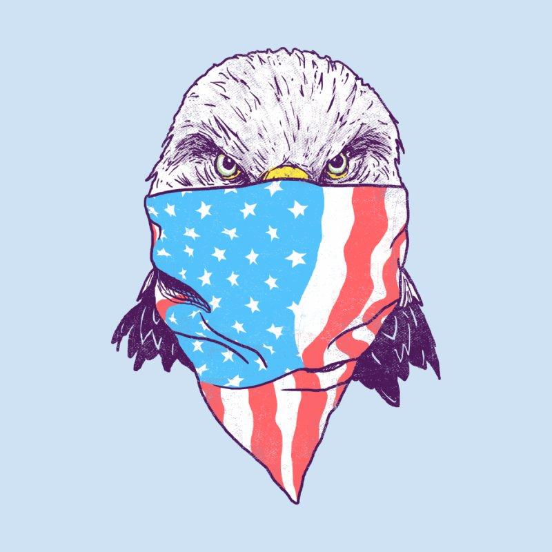 Masked Eagle Men's T-Shirt by Hillary White Rabbit