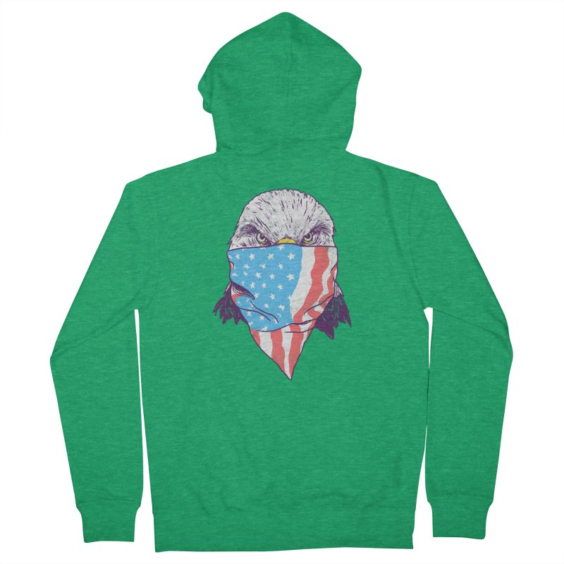 Bald Bandit Women's Zip-Up Hoody by hillarywhiterabbit's Artist Shop
