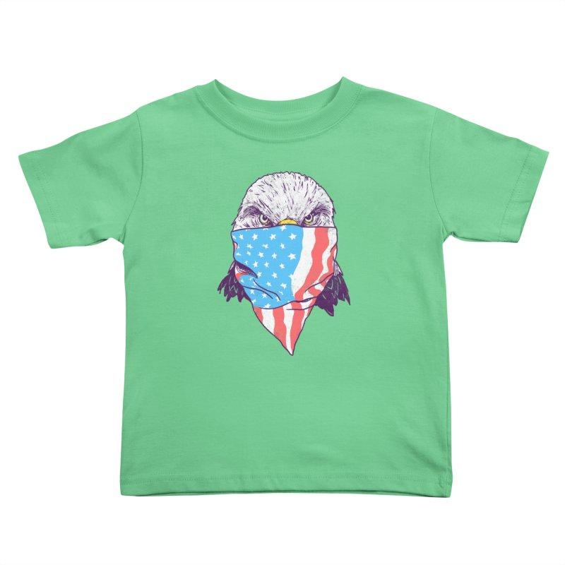 Bald Bandit Kids Toddler T-Shirt by hillarywhiterabbit's Artist Shop