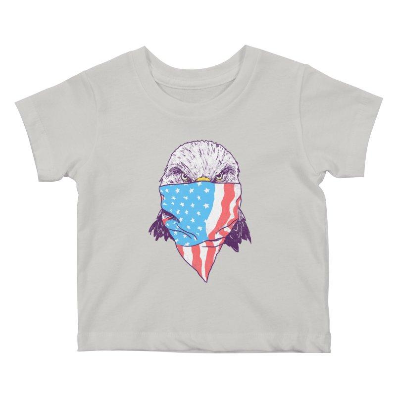 Bald Bandit Kids Baby T-Shirt by hillarywhiterabbit's Artist Shop